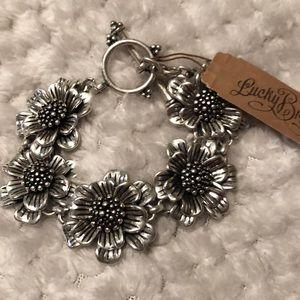 Lucky brand Flower bracelet silver